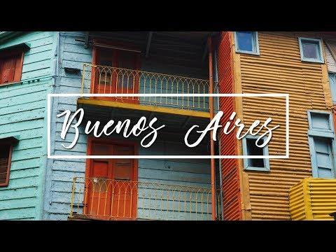 BUENOS AIRES ARGENTINA 2016 | LA BOCA, LA RECOLETA CEMETERY AND EL ATENEO (FULL HD)