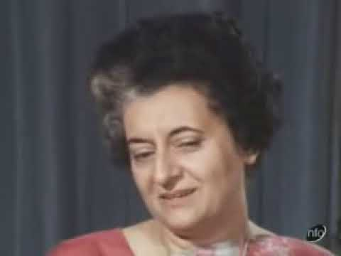Indira Gandhi Interview 1971