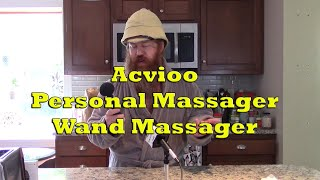 Acvioo Personal Massager Wand Massage Product Demo