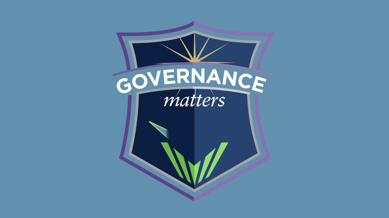 For Good Development, Governance Matters
