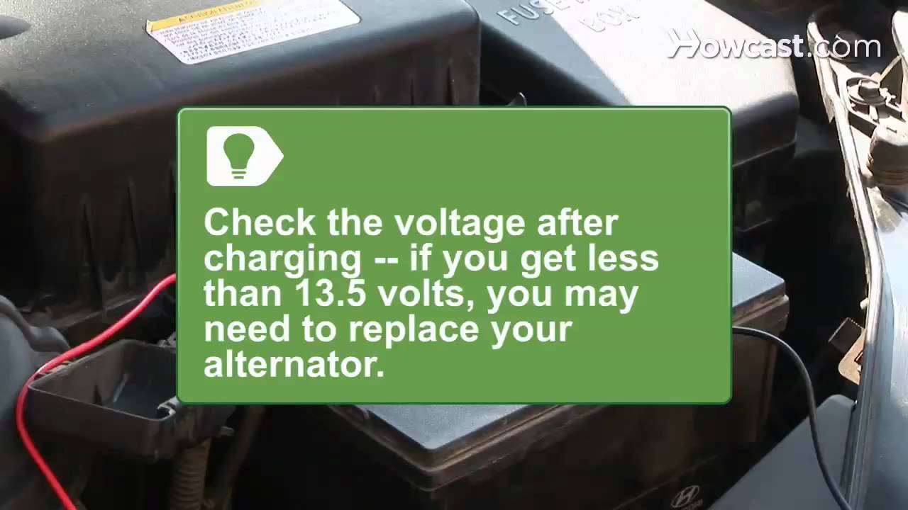 How To Check Car Battery Amps Youtube Simple Charger Circuit
