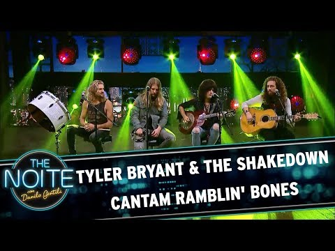 Tyler bryant & the shakedown cantam Ramblin' Bones  The Noite (06/10/17)