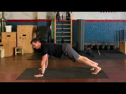 How to do The Cross Crawl Pushup