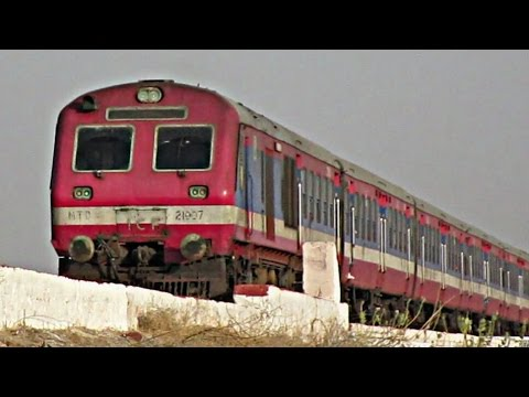 DEMU - Indian Railways Beauty | Churu - Bikaner Demu Passenger