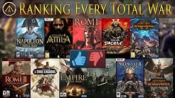 Ranking Every Total War Title // Steam Reviews