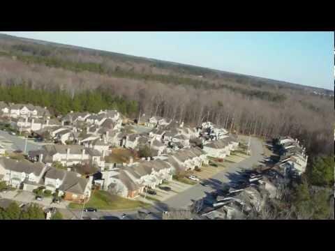 Virginia Beach Neighborhood Flying w/HD Camera #2