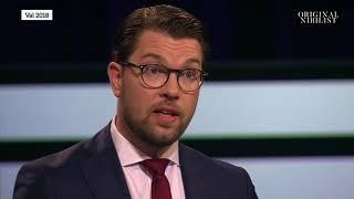 Jimmie Åkesson (SD) vs. Ulf Kristersson (M) - Varför vill inte Moderaterna samarbeta med SD?