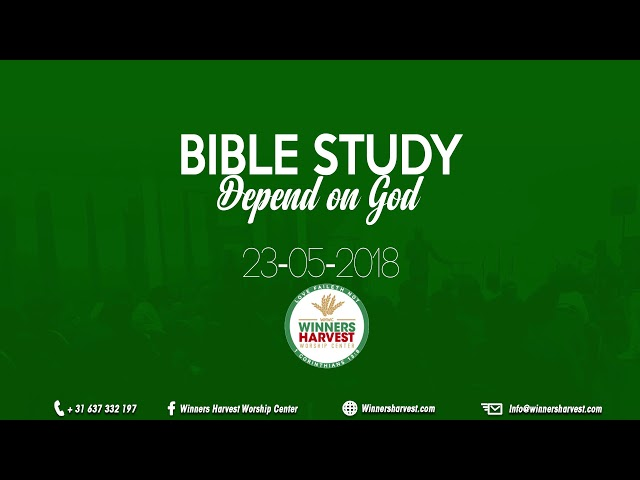Depend on God - 23-05-2018