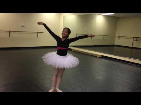 Baby Ballerina Tutorial by Natasha Groves #4: Bourrée