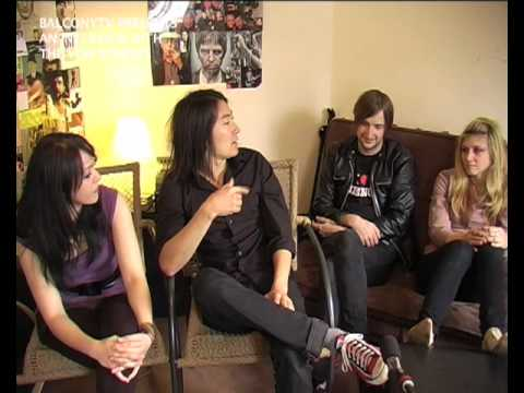 AN INTERVIEW WITH THE VON BONDIES (BalconyTV)