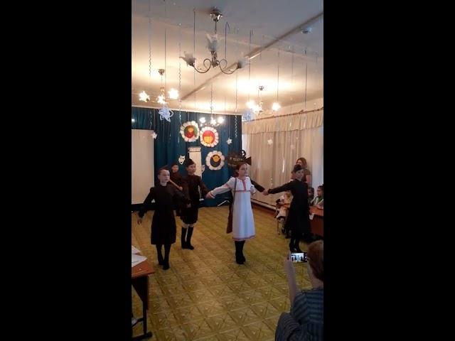 №40 Танцевальный коллектив «Куралесики». Танец и стих
