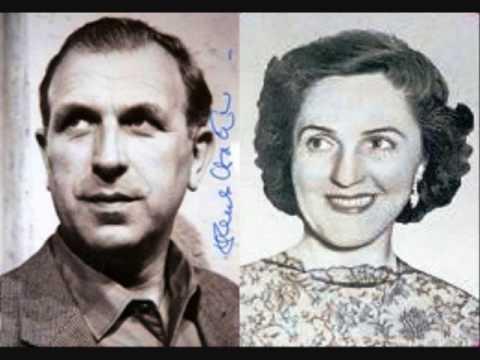 Maria von Ilosvay & Hans Hotter