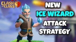 ICE WIZARD New WAR ATTACK STRATEGY | ICE WIZARD + HOGS | Th9 New Strategy | Clash Of Clans