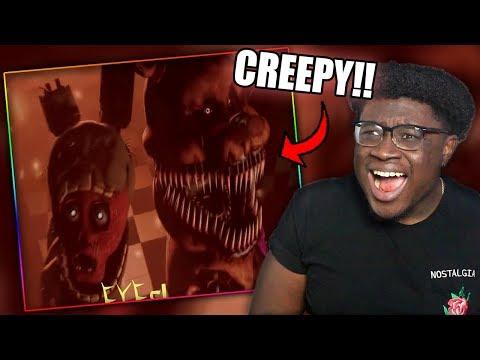 FREDDY FAZBEAR IS SCARY!   [FNAF 3 RAP SFM] Another Five Nights Reaction!