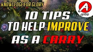 10 Tips to Improve as a Carry - How to carry in Vainglory