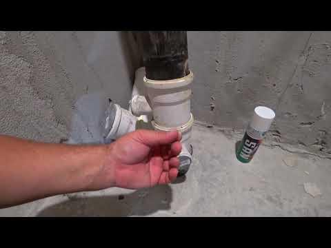 Панельный дом - замена канализации