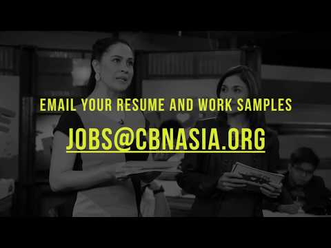 Media Job Openings   CBN Asia
