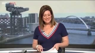 *BLOOPER!* BBC reporting Scotland Weather 26/10/17