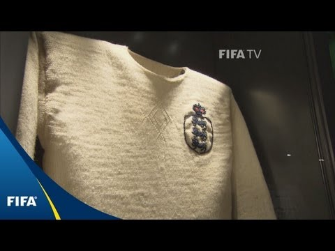 The first international football shirt and more