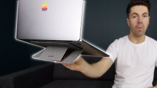 The Invisible Laptop Stand - MOFT Stand