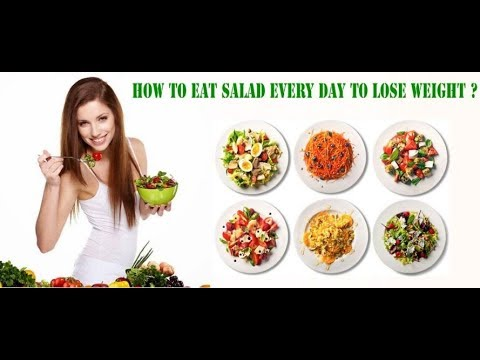 Weight Loss Salad Recipe For Dinner   How To Lose Weight Fast With Salad in Healthy Life