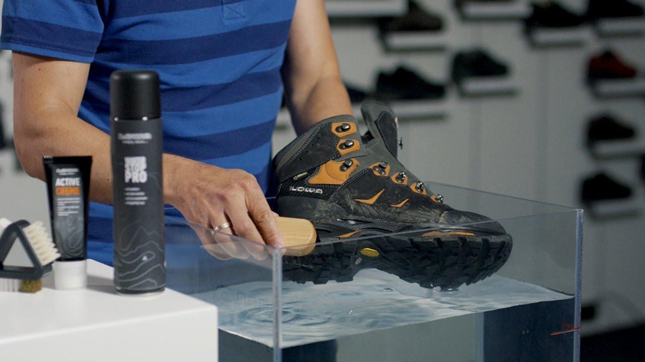 Pflegetipps, Wellness für die Schuhe | LOWA DE