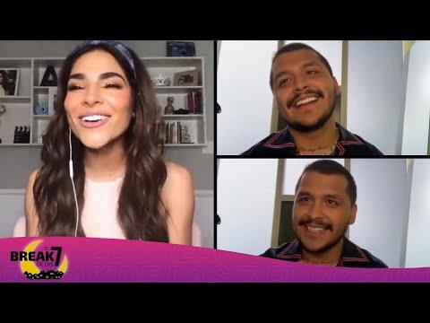 De amores platónicos y tóxicos: Christian Nodal conversa con Alejandra Espinoza | El Break de las 7
