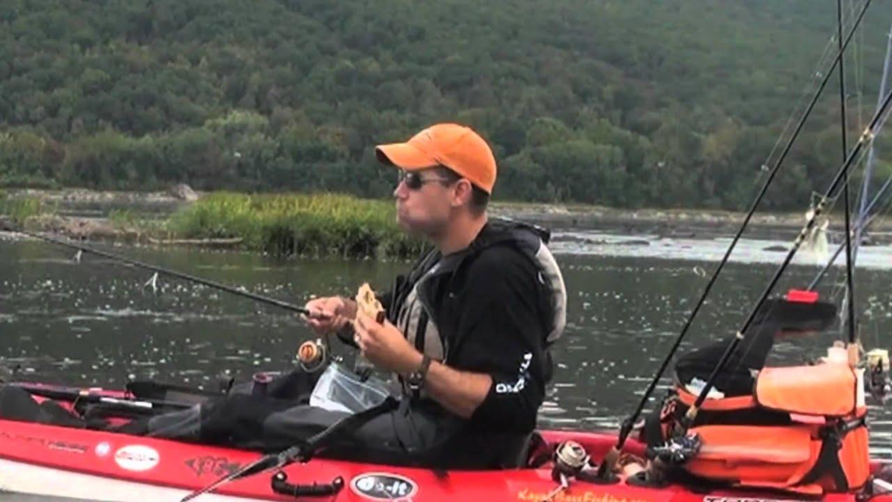 River kayak fishing skills dvd out takes youtube for River fishing kayak