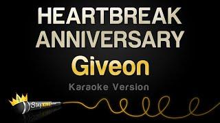 Giveon - HEARTBREAK ANNIVERSARY (Karaoke Version)