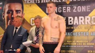 CALLUM JOHNSON v RICHARD HORTON - OFFICIAL WEIGH IN & HEAD TO HEAD / DANGER ZONE