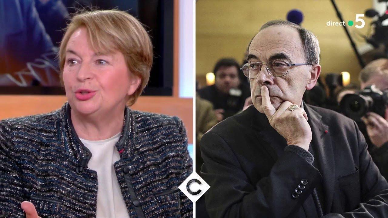 Le cardinal Barbarin devant les juges - C à Vous - 09/01/2018