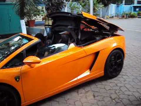 Lamborghini Gallardo Lp560 4 Spyder Roof Convert Video