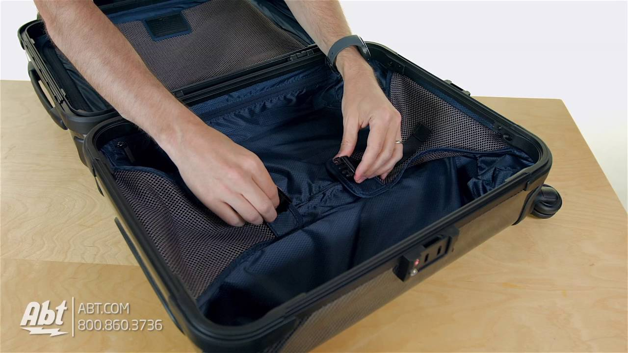 78914b7bc Tumi Tegra-Lite X Frame Black Graphite Continental Carry-On 48321DG -  Overview