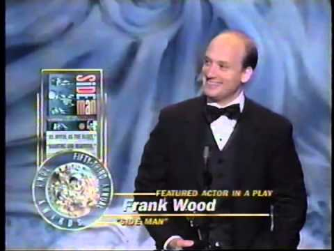 Frank Wood wins 1999 Tony Award for Best Featured Actor in a Play