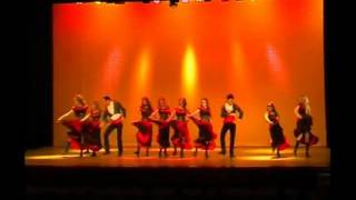 Fun fantasy danse espagnole gitane