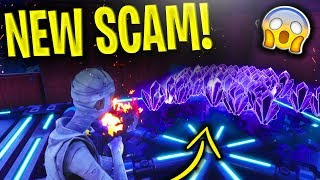*NEW SCAM* The Inventory SCAM BEWARE! Scammer Gets EXPOSED In Fortnite Save The World
