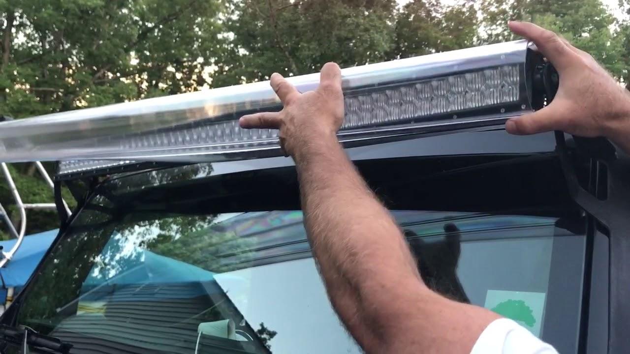 Aerolidz aerodynamic 50 inch led light bar cover youtube aerolidz aerodynamic 50 inch led light bar cover aloadofball Choice Image