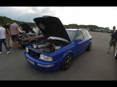AUDI RS2 AVANT PORSCHE ! BLUE COLOUR ! WALKAROUND + ENGINE ! AUDI 80 B4 ! TURBO !