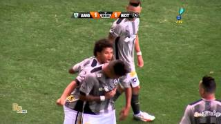 Gols América-MG 1 x 2 Botafogo 60 fps - Brasileirão 2015 Série B