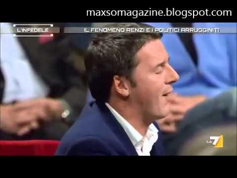 Ricca fa arrabbiare Matteo Renzi