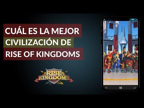 ¿Cuál es la Mejor Civilización de Rise of Kingdoms? – Lista de Todas las Civilizaciones