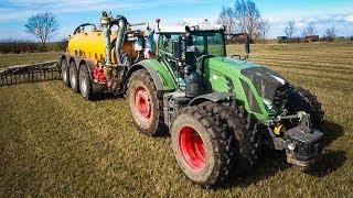 Un tracteur 7 Roues sur une tonne à lisier !