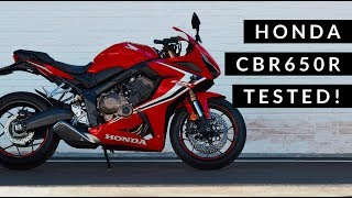 Honda CBR650R Review | The middleweight sports Honda is back!