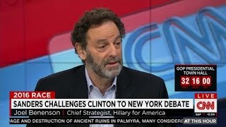 Clinton strategist on a New York debate: 'Let's...
