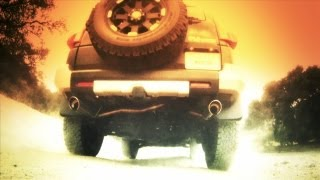 FJ Cruiser Exhaust System Sound - Borla S-Type - CatBack - 2010-14