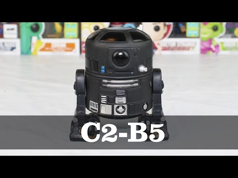 Star Wars Rogue One C2-B5 Funko Pop Unboxing