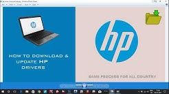 How to download and Install Hp wifi Driver,Bluetooth,Bios,Graphics etc. in 2020