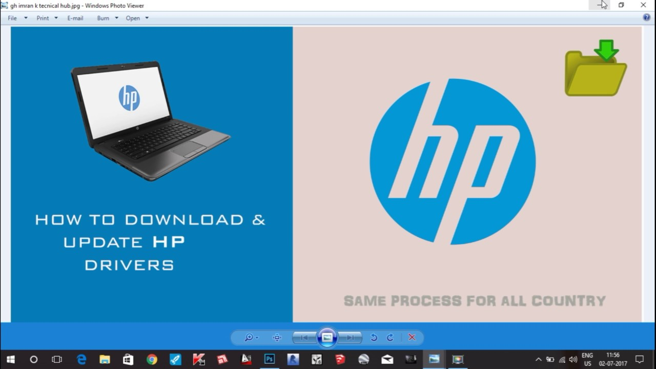 How to download and Install Hp wifi Driver,Bluetooth,Bios,Graphics etc  in  2019
