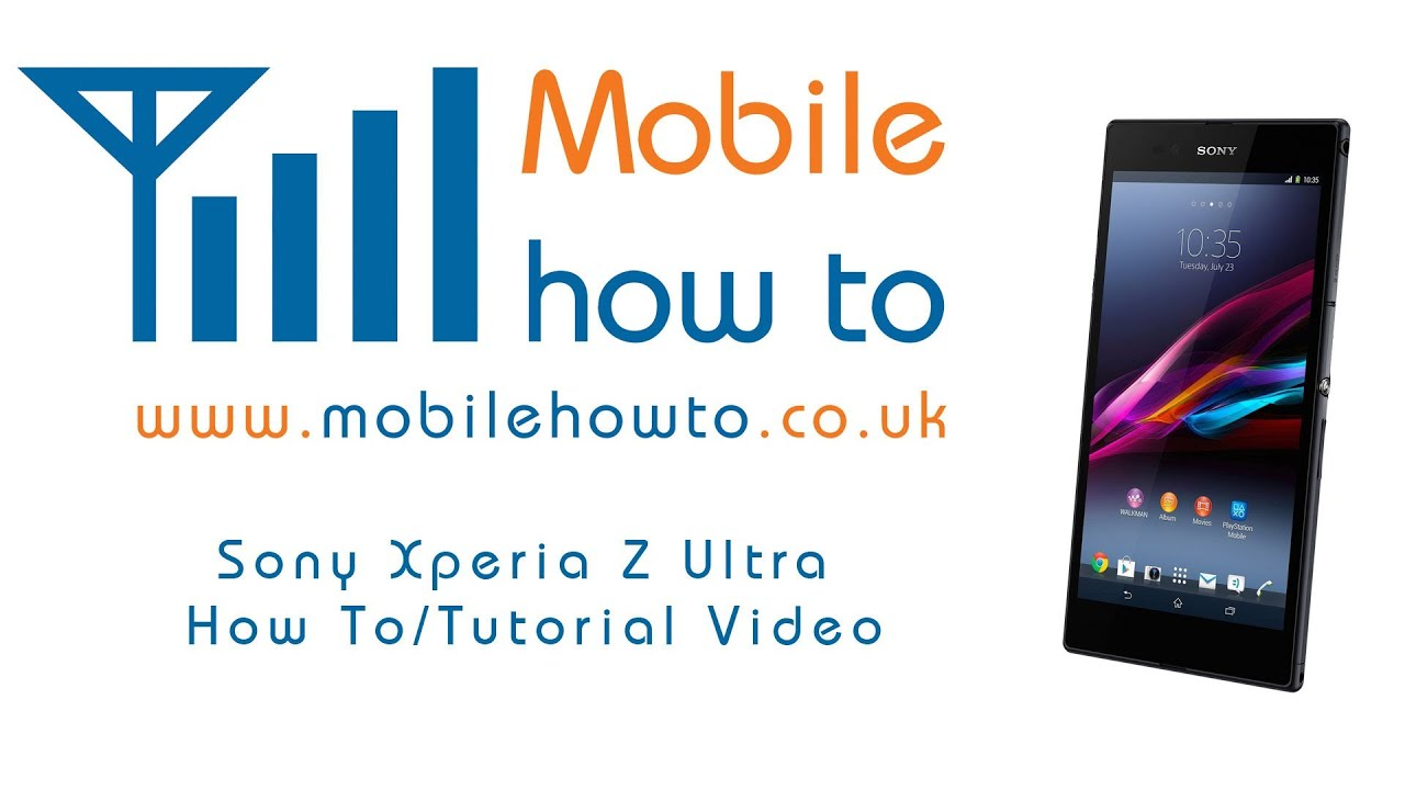 How To Deal With Your Device If It Freezes Or Crashes  Sony Xperia Z Ultra