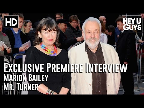 Marion Bailey   Mr. Turner Premiere